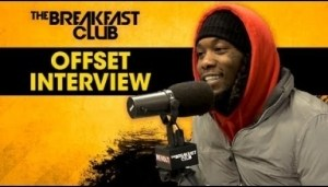"Offset Talks ""father Of 4,"" Cardi B & More On The Breakfast Club"